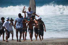 Triunfó el surfista oaxaqueño Sasha Donnanno en torneo ALAS