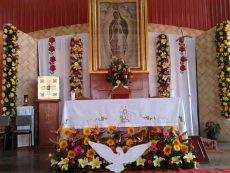 Comienzan en Huajuapan festejos para celebrar a la Virgen de Guadalupe
