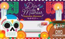 Emiten timbre conmemorativo del Día de Muertos