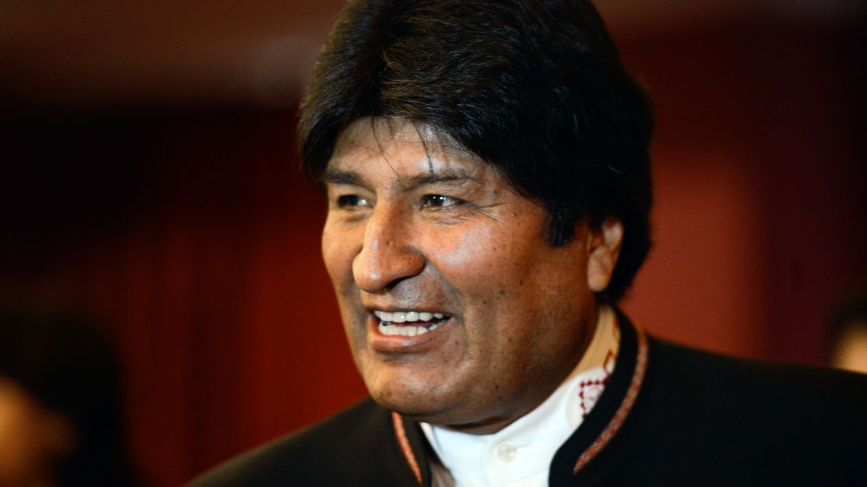 Avión de las Fuerzas Armadas de México trasladó a Evo Morales
