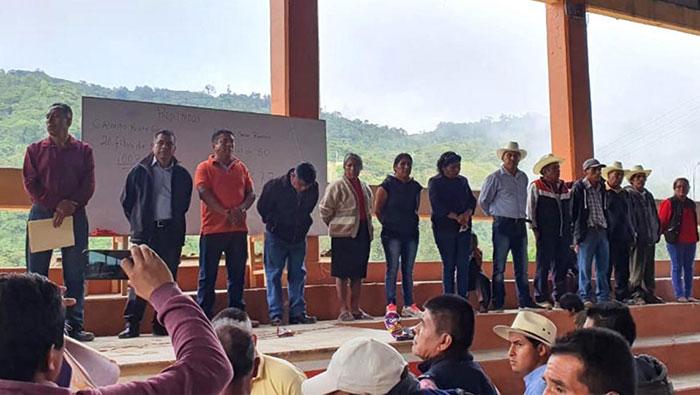 En paz eligió Eloxochitlán a sus nuevas autoridades