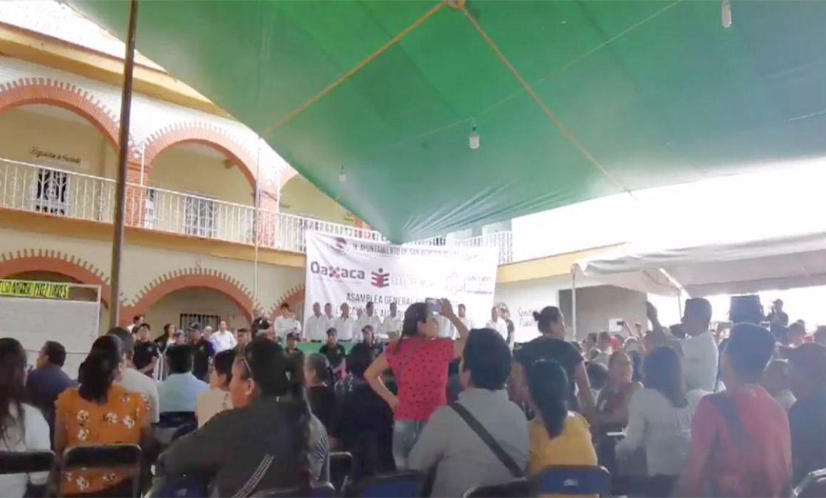 Violentan elección en San Agustín de las Juntas - Diario Marca de Oaxaca