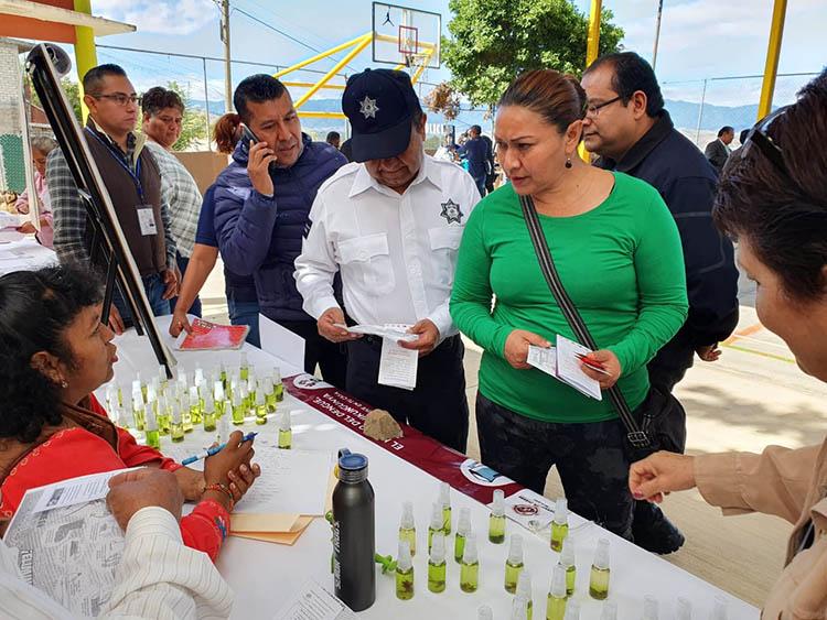 """Inicia municipio de Oaxaca en Pueblo Nuevo la """"Feria Itinerante de Prevención del Delito"""" - Diario Marca de Oaxaca"""
