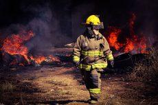 Causó alerta incendio en bodega en inmediaciones de Xoxocotlán