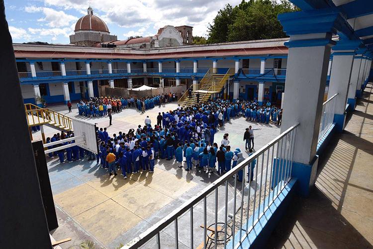 Con Macrosimulacro escuelas fortalecen la cultura de protección civil: IEEPO