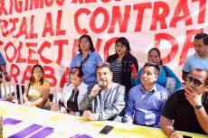 Sindicatos piden explicación de recursos que recibe la UABJO