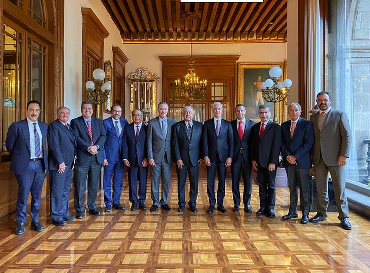 Refrenda Murat trabajo conjunto con la Federación