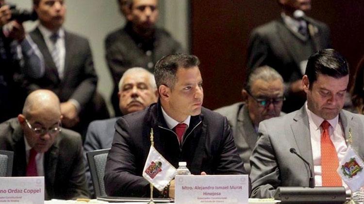 Refrenda Murat compromiso para fortalecer estrategia de seguridad