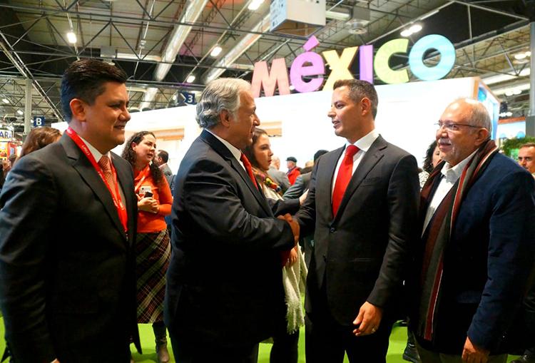 Impulsan atractivos de Oaxaca en la FITUR 2020