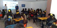 """Previenen riesgos en escuelas con """"Mochila Segura"""""""
