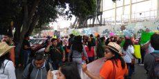 Continúan protestas de sindicalizados de Salud; piden certeza laboral