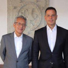Titular del Poder Judicial estrecha lazos con el gobernador Alejandro Murat