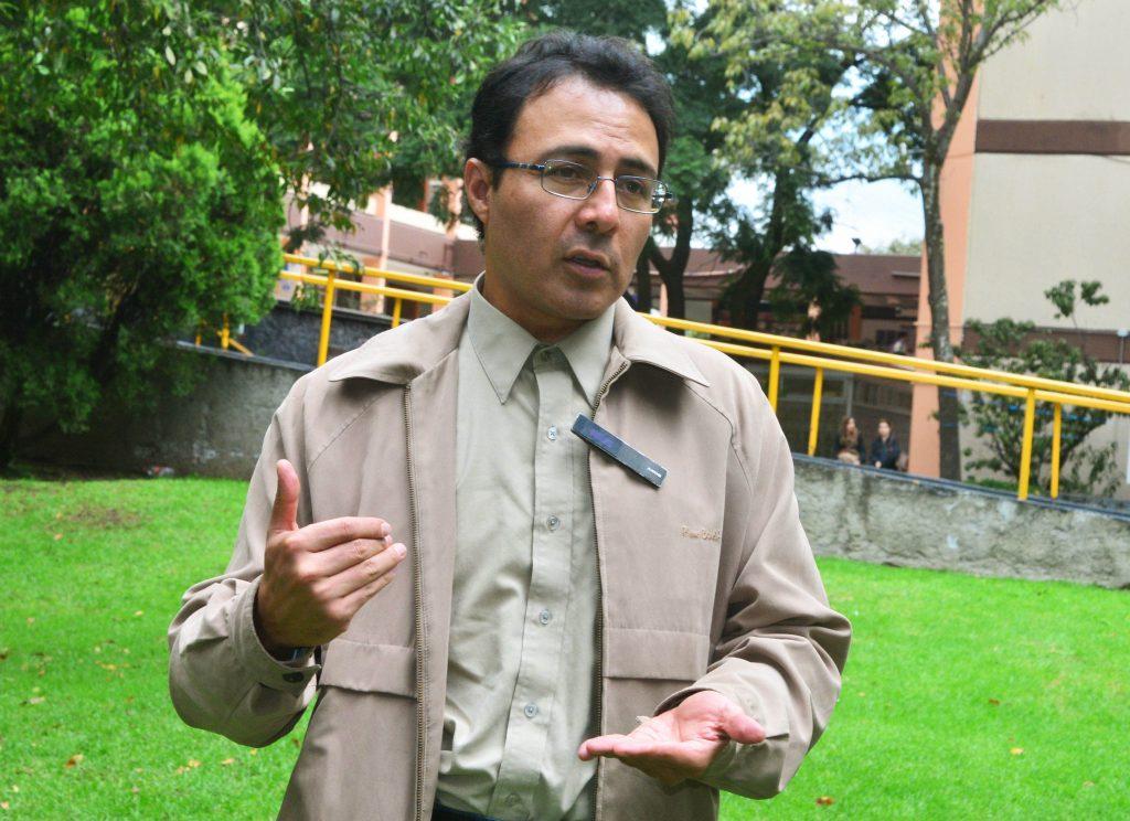Ricardo Trujillo Correa, académico de la Facultad de Psicología (FP) de la UNAM.