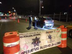Realizarán servicio comunitario conductores detectados en Operativo Alcoholímetro