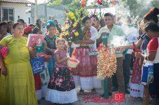 Celebran zapotecos ritual sagrado en Juchitán