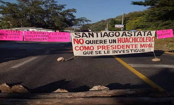Se agudiza lío poselectoral en Santiago Astata