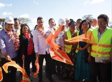 Entrega Alejandro Murat obras y acciones que fortalecen el desarrollo de Juchitán