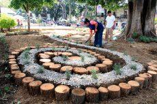 Revitaliza ayuntamiento jardines y espacios verdes del corazón de Oaxaca de Juárez