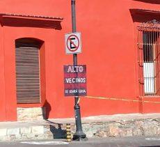 Limitan calle de García Vigil