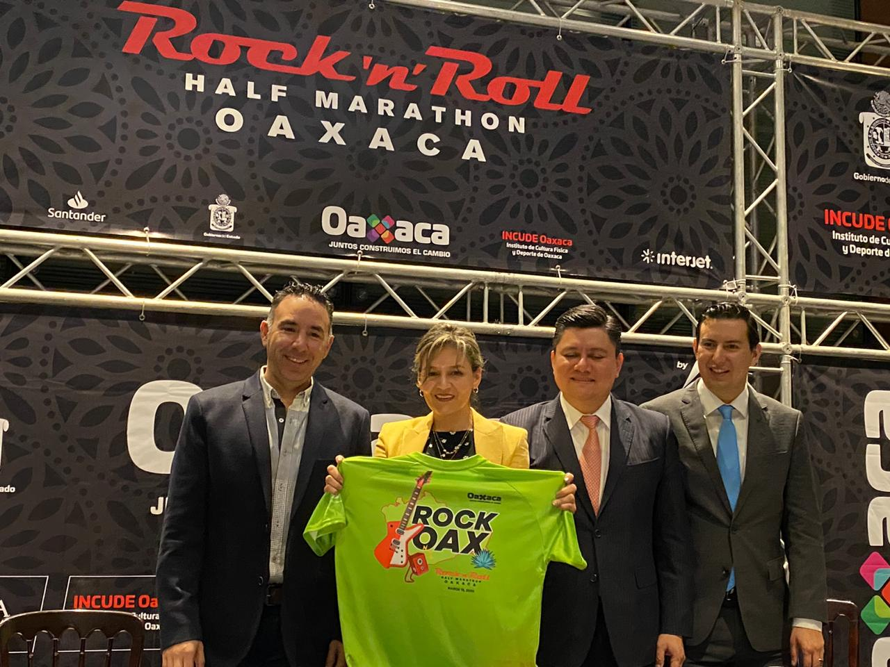 ¡A rockear con Moderatto en el Medio Maratón 'Rock and Roll' en Oaxaca!