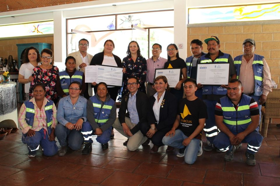 Reconoce ONU proyecto de reciclaje en Huajuapan