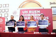 Garantizarán seguridad de mujeres en transporte público de Oaxaca de Juárez