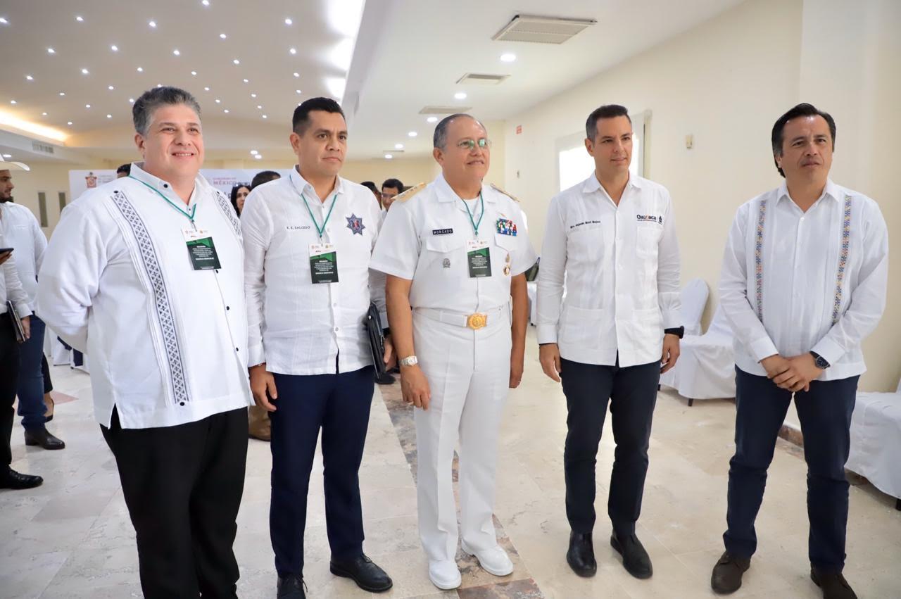 Unen esfuerzos por la paz en frontera Oaxaca – Veracruz