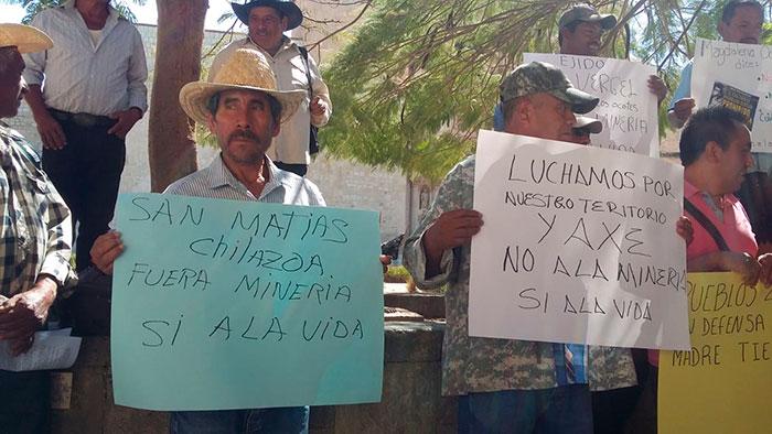 Piden comuneros cancelar proyecto minero de San José