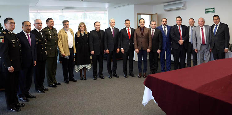 Establecen Murat y Federación estrategias para garantizar la de seguridad