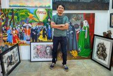 Arte de joven oaxaqueño va a Europa