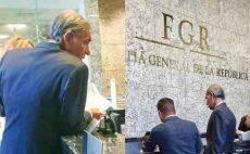 Comparece Gabino Cué ante FGR por caso Nochixtlán