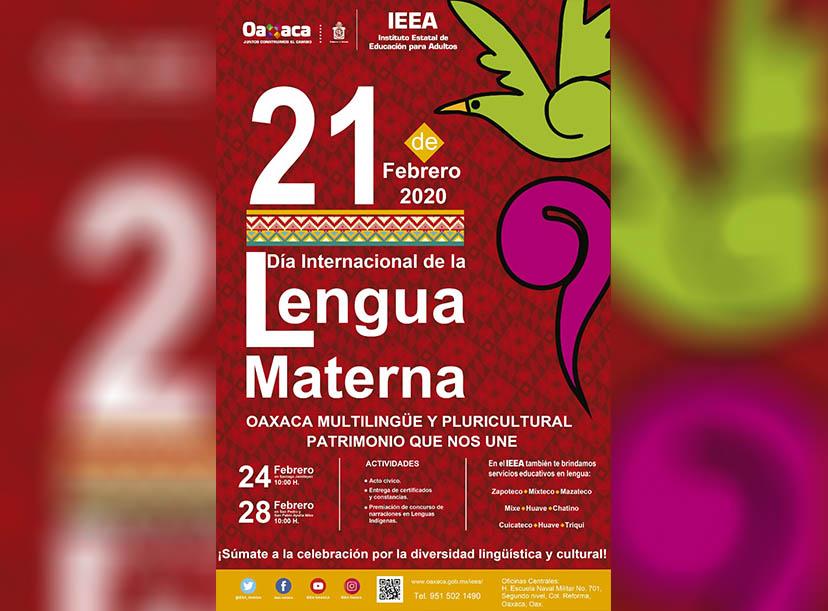 Invita el IEEA a participar en el primer Concurso de Narraciones de Lenguas Maternas