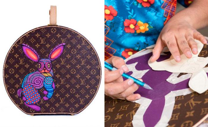 Luce Louis Vuitton colección en colaboración con artesanos de Oaxaca