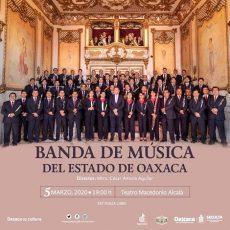 Invitan a concierto de la Banda de Música del Estado de Oaxaca