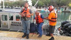 Se hundió buque en mar de Huatulco