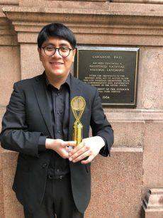 Pianista oaxaqueño triunfa en Nueva York