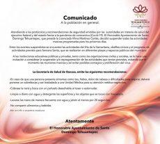 Posponen festival Guendeliza'a 2020 en el Istmo