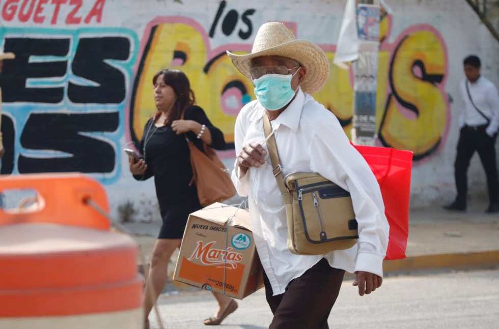 Confirman 7 casos de Covid-19 en Oaxaca