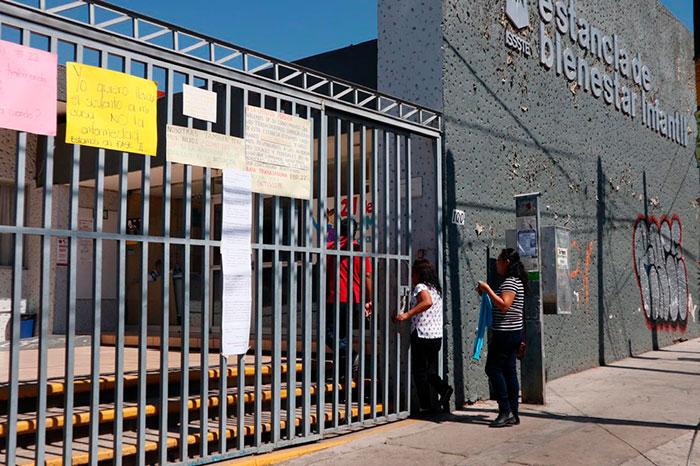 Piden en estancia infantil del ISSSTE en Oaxaca condiciones para laborar