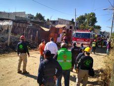 Explota cohetería en colonia Guelaguetza de Atzompa