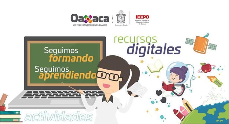 Aula de Aprendizaje Digital, opción del IEEPO en apoyo a estudiantes