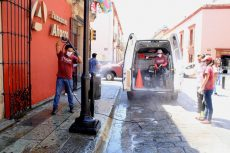 Restringen acceso a espacios públicos de la capital