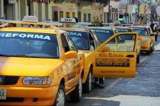 Habilitan tarifa especial de taxis para el aeropuerto de Oaxaca