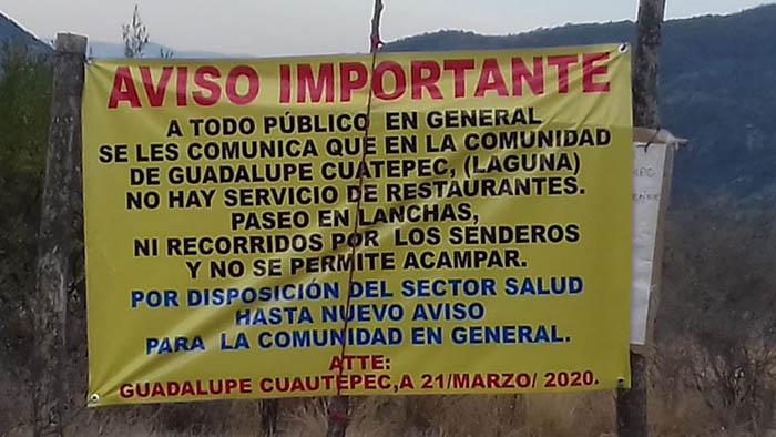Autoridades de Cuautepec y Coixtlahuaca piden a sus paisanos no regresar a sus comunidades