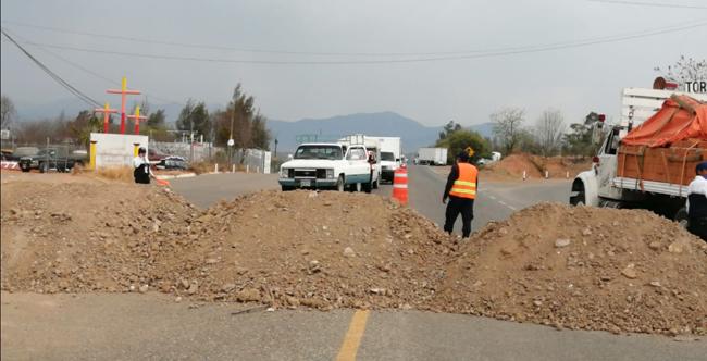 Cierran parcialmente entradas y salidas de Nochixtlán