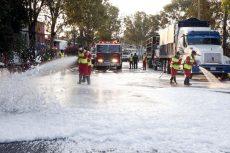 Sanitizan la Central de Abasto en Oaxaca