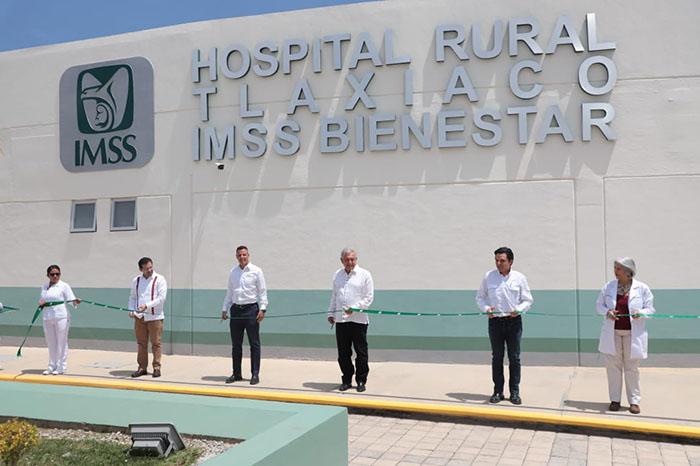 Cumplen con entrega de Hospital en Tlaxiaco