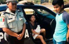 Ayuda GN a mujer en labor de parto en autobús que se dirigía a Salina Cruz