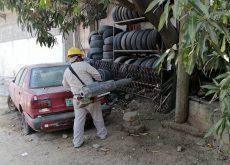 refuerzan trabajos de nebulización para prevenir dengue, zika y chikungunya
