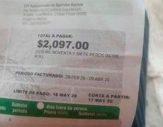 Denuncia incremento en tarifas de la CFE en Huatulco